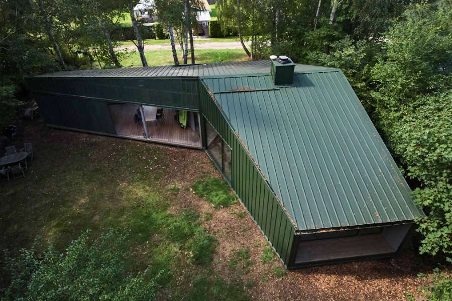 The beautiful, green and almost maintenance-free summer cottage, Engbakken 18, 4050 Skibby